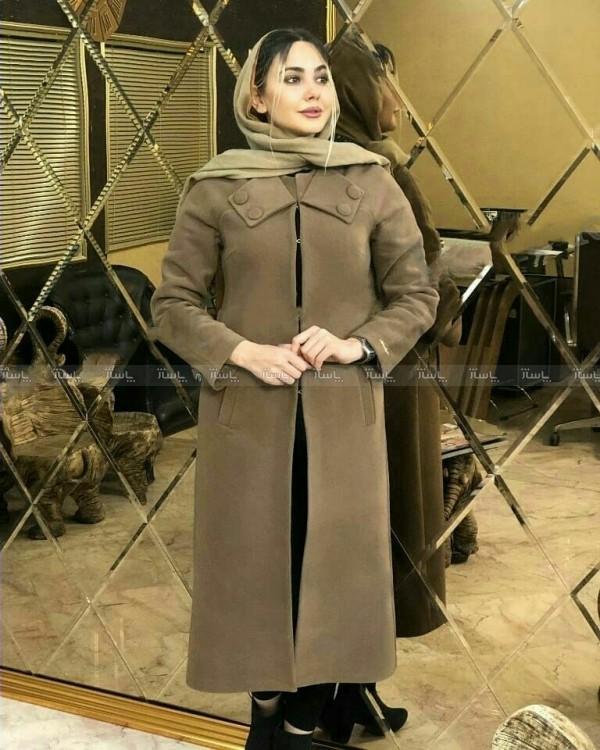 پالتو زنانه جلو غزن دار-تصویر اصلی