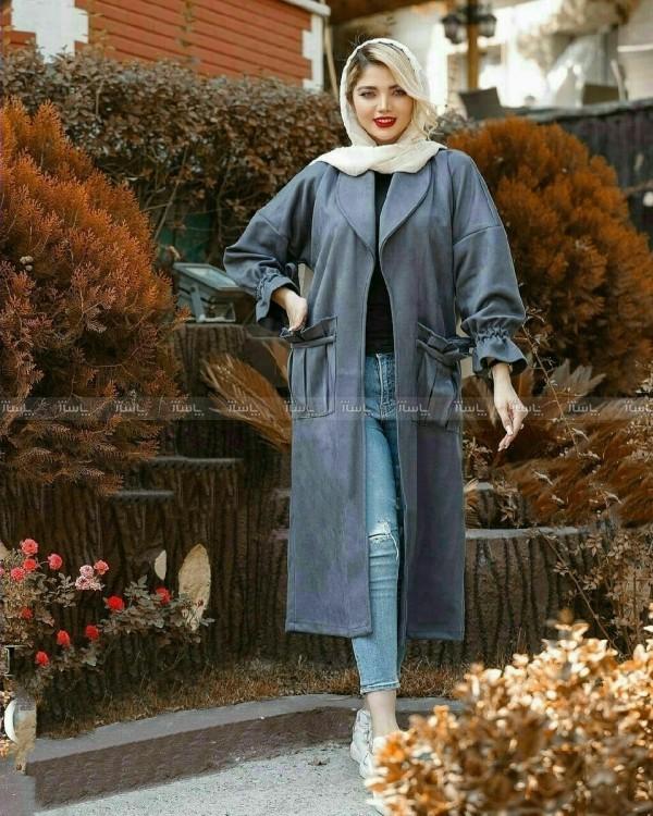 پالتو زنانه جلو باز جیب دار-تصویر اصلی