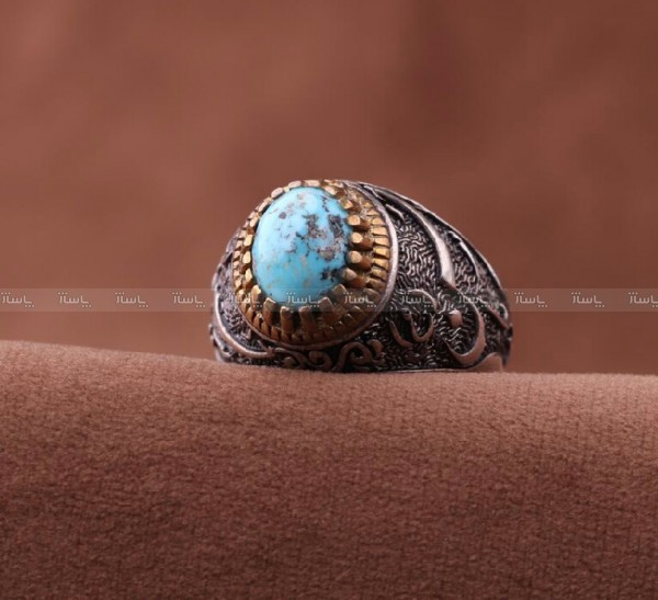انگشتر فیروزه نیشابور-تصویر اصلی