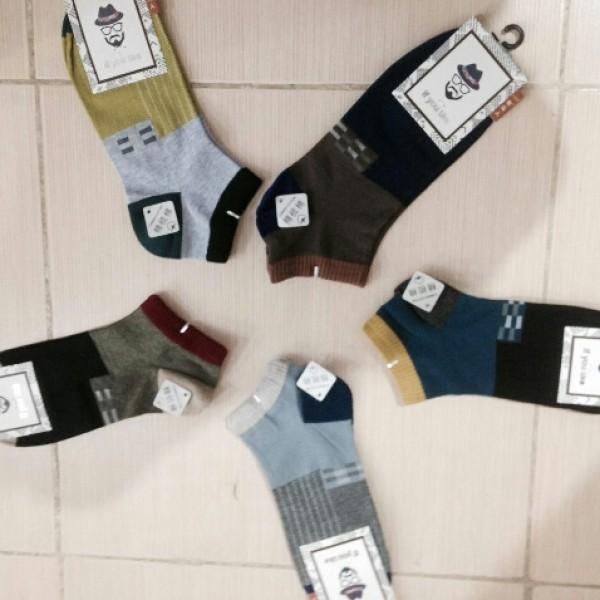 جوراب نخی مارک دار-تصویر اصلی