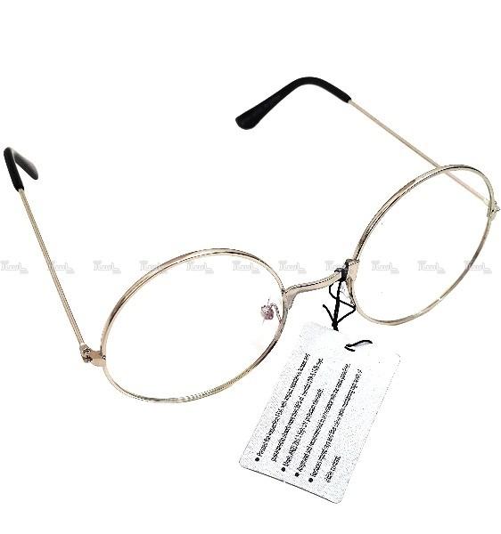 فریم عینک طبی گرد مناسب کار با کامپیوتر و تلفن همراه