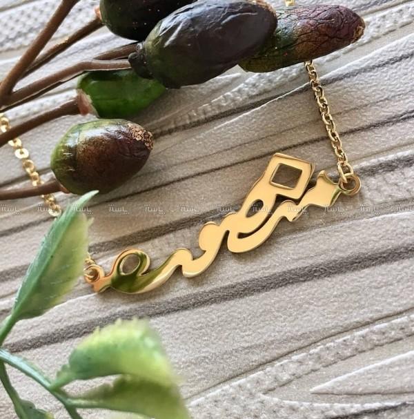 گردنبند اسم منصوره-تصویر اصلی