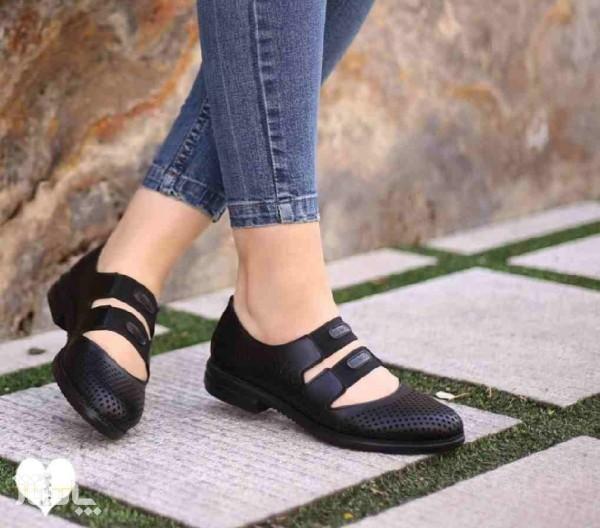 کفش تابستانی چرم-تصویر اصلی