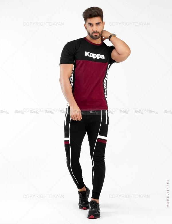 ست تیشرت و شلوار مردانه Kappa مدل 14767-تصویر اصلی
