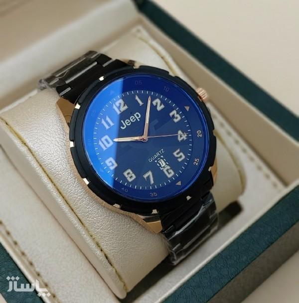 ساعت مردانه استیل شیشه-تصویر اصلی