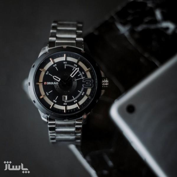 ساعت مردانه استیل-تصویر اصلی