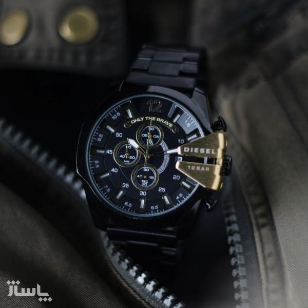 ساعت مردانه استیل سه موتور-تصویر اصلی