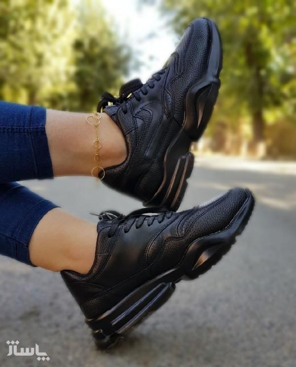 کفش کتانی نایک چرم دخترونه-تصویر اصلی