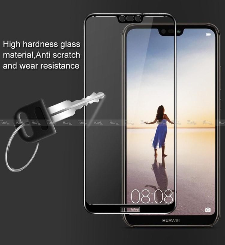 محافظ صفحه نمایش تمام چسب فول glass p20 lite - Nova 3e-تصویر اصلی