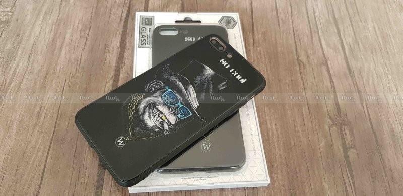 قاب پشت گلس طرح دار مدل Azure WK iphone 7plus/8plus-تصویر اصلی