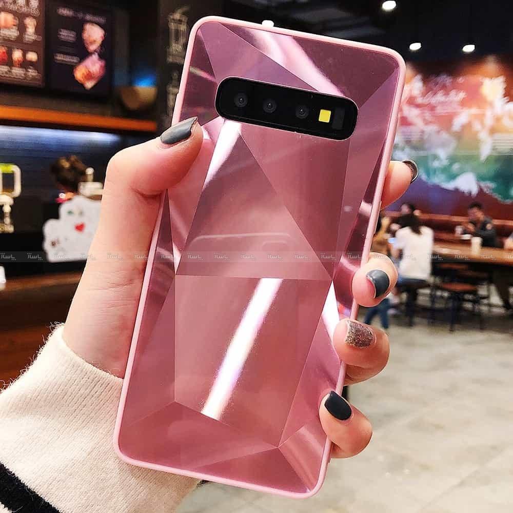 قاب الماسی پشت گلس سامسونگ Diamond Case Samsung Galaxy A6PLUS-تصویر اصلی
