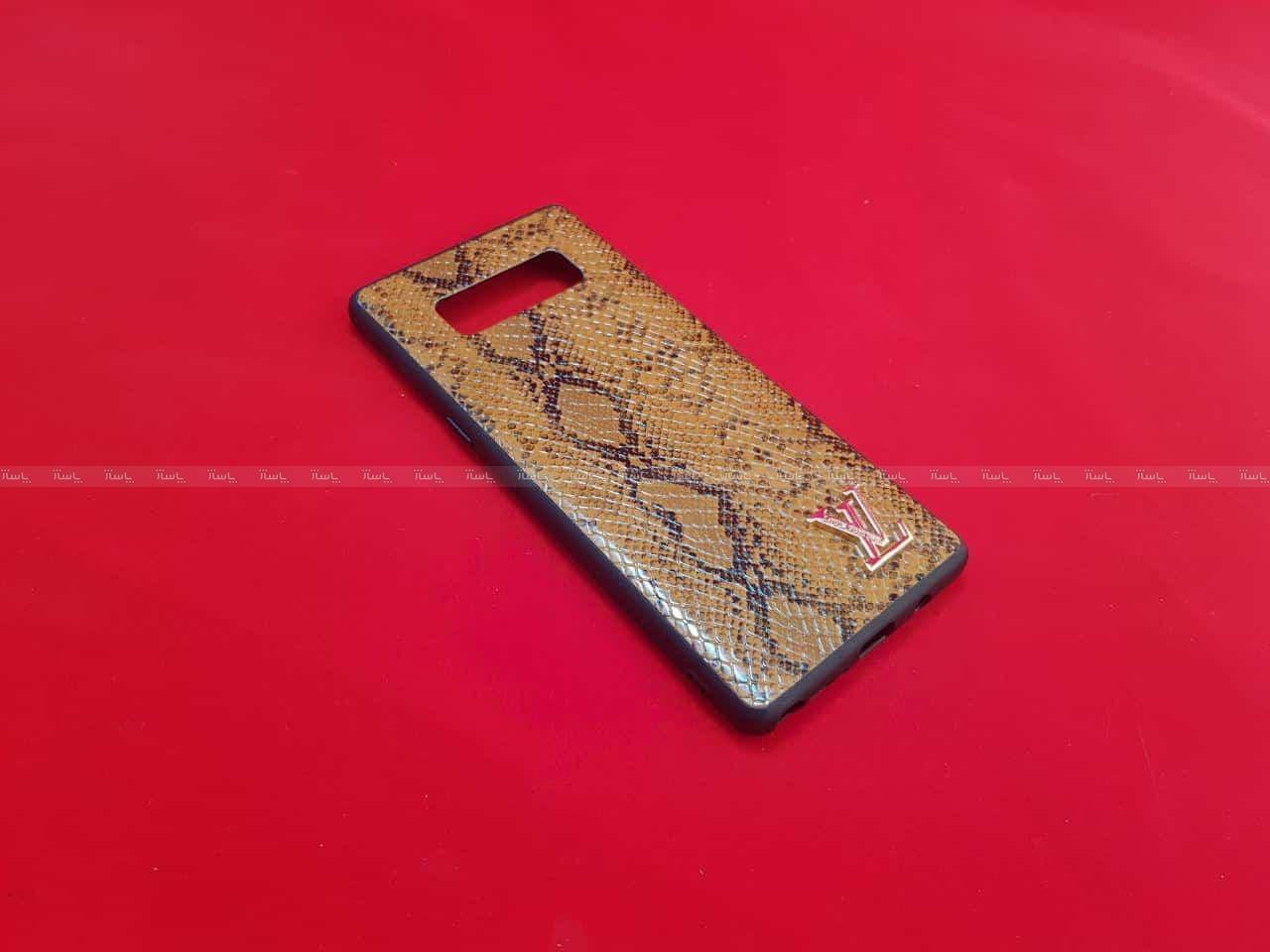 قاب چرمی پوست ماری LV Leather case Samsung Galaxy S10-تصویر اصلی
