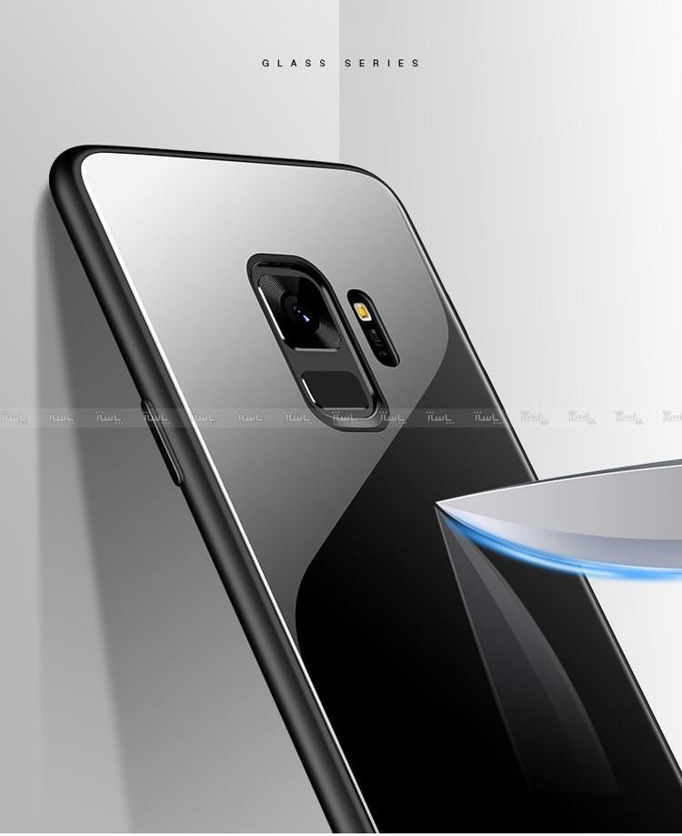 قاب اصلی پشت گلس Glass Case Samsung Galaxy J6 plus-تصویر اصلی