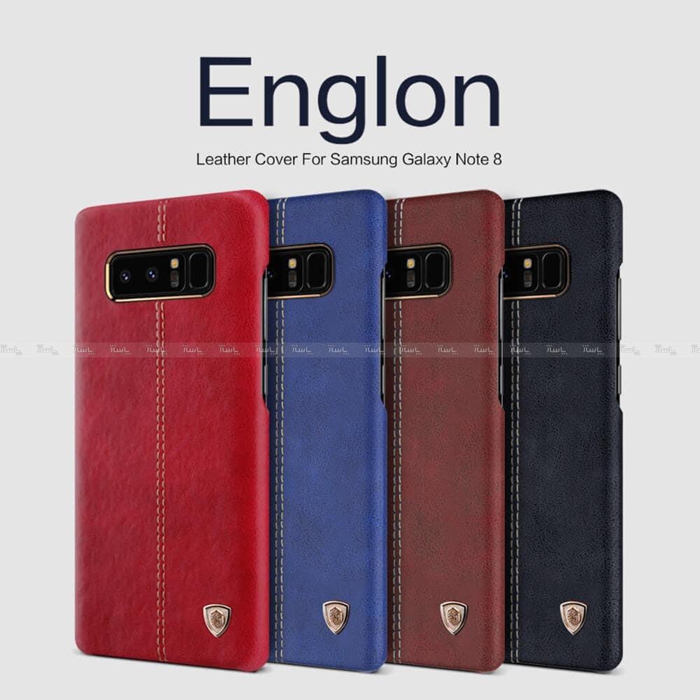 قاب محافظ چرمی نیلکین سامسونگ Nillkin Englon Galaxy Note8-تصویر اصلی