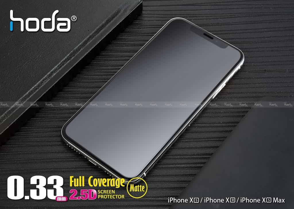 گلس تمام صفحه کریستال مات full glass Crystal Matt 9D Armir iphone XS MAX/11PRO MAX-تصویر اصلی