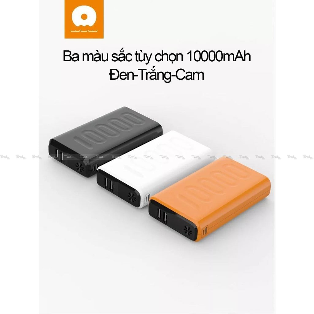 پاوربانک دبلیو یو دبلیو Power bank Wuw Y55 20000MA-تصویر اصلی
