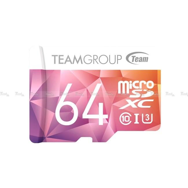 مموری کارت 64GB microSDXC TEAMGROUP کلاس 10 استاندارد UHS-lI U3-تصویر اصلی