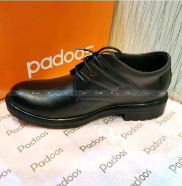 کفش بندی مردانه مجلسی قهوه ای آقای چرم-تصویر اصلی