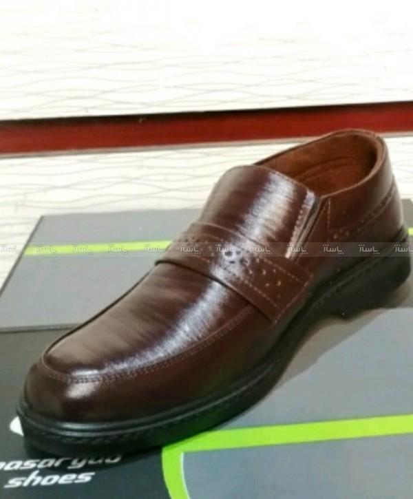کفش چرم مجلسی مردانه آقای چرم-تصویر اصلی