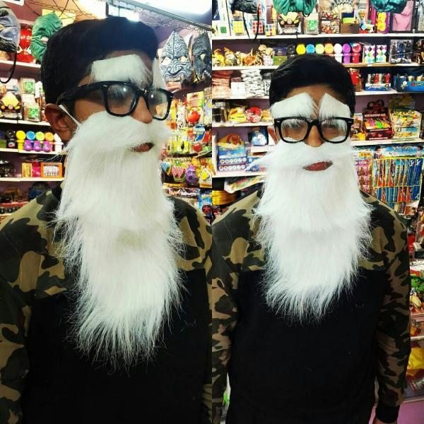 ریش و سیبیل و ابرو بابا نوئل-تصویر اصلی