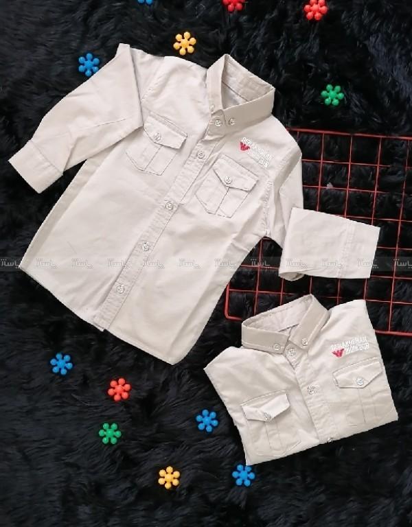پیراهن کتان پسرانه-تصویر اصلی