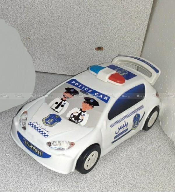 ماشین 206 پلیس پلاستیکی-تصویر اصلی