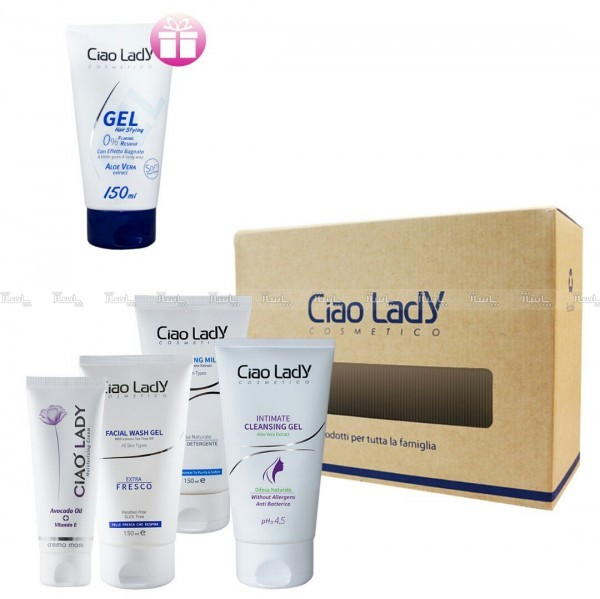 پک آرایشی زنانه چائولیدی + ژل مو بعنوان هدیه-تصویر اصلی