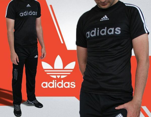 ست تیشرت و شلوار adidas Black-تصویر اصلی