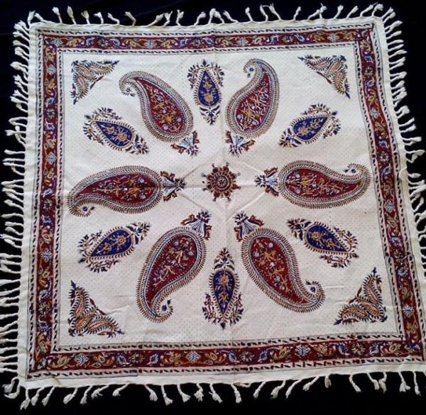 سفره، رومیزی قلمکاری اصفهان-تصویر اصلی
