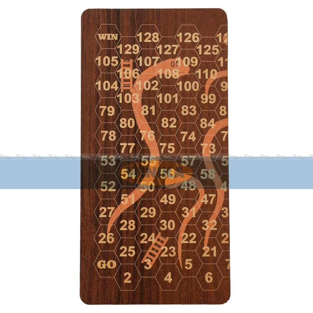 بازی فکری مار و پله و تخته نرد مدل winika-05-تصویر اصلی