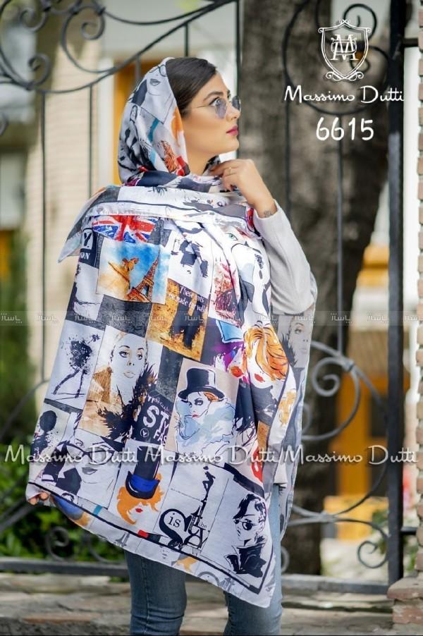 روسری نخی بهاره ژیوار کد ۶۵۳-تصویر اصلی