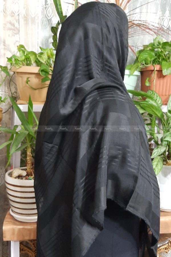 روسری نخی طرح دار قواره بلند-تصویر اصلی