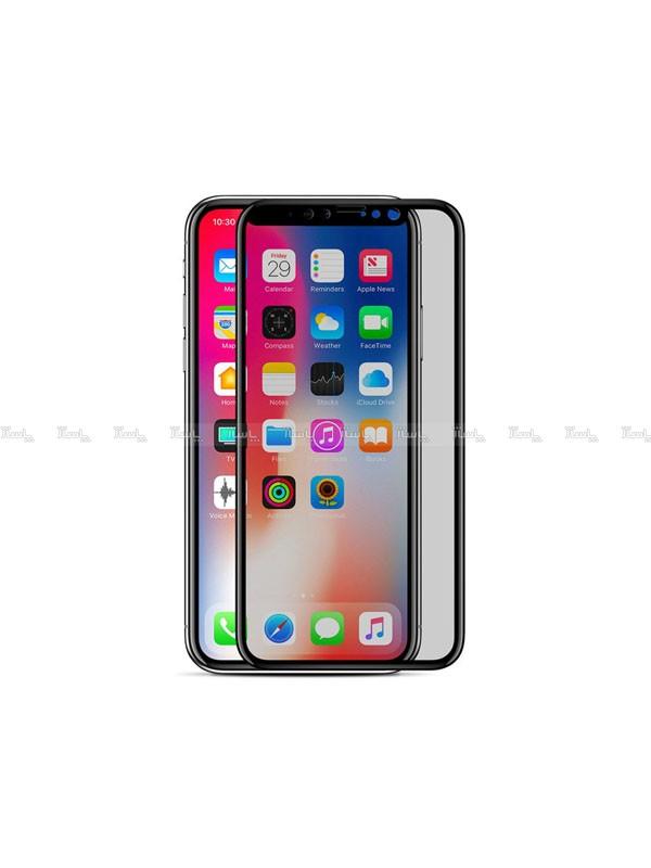 محافظ صفحه نمایش Privacy Glass مناسب برای گوشی موبایل اپل IPhone X-تصویر اصلی