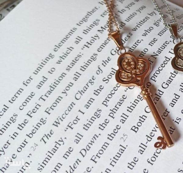 گردنبند طرح کلید-تصویر اصلی