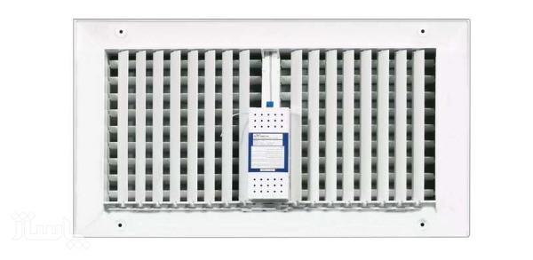 دریچه کولر مستطیل دو شبکه نسیم سایز 40*20 ریموت دار-مدل-V-RT-20*40-R-تصویر اصلی