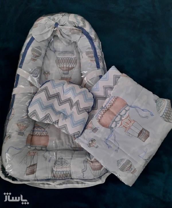 تشک لبه دار نوزاد تاپ مدل کاریز-تصویر اصلی