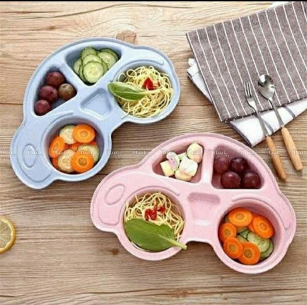 ظرف غذای کودک طرح ماشین-تصویر اصلی