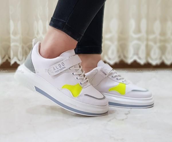 کفش کتانی اسپرت سفید آلدو-تصویر اصلی