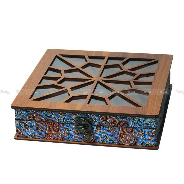 جعبه آجیل جعبه پذیرایی جعبه دمنوش جعبه خشکبار لوکس باکس کد LB032-تصویر اصلی