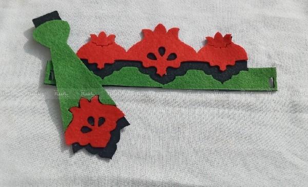 تاج و کراوات طرح انار-تصویر اصلی