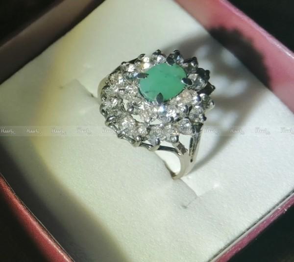 انگشتر زمرد سبز-تصویر اصلی