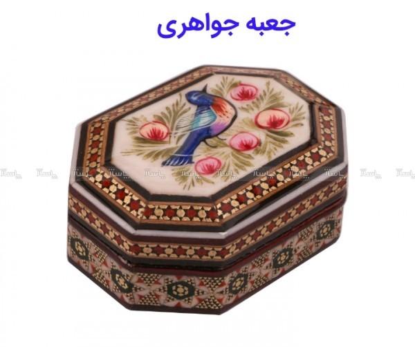 جعبه جواهرات خاتم کاری-تصویر اصلی