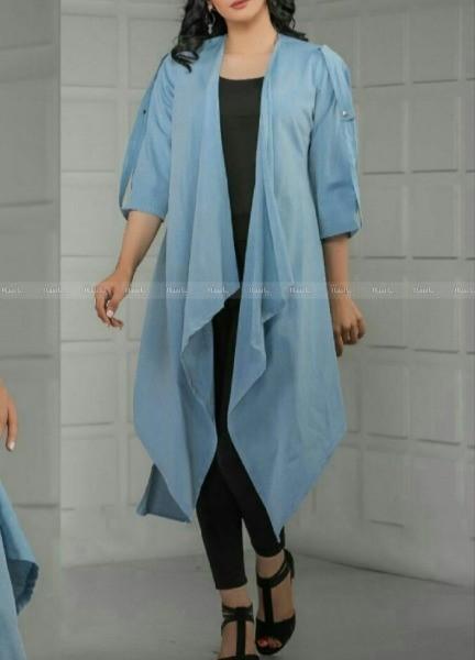 مانتو مدل استین بندخور-تصویر اصلی
