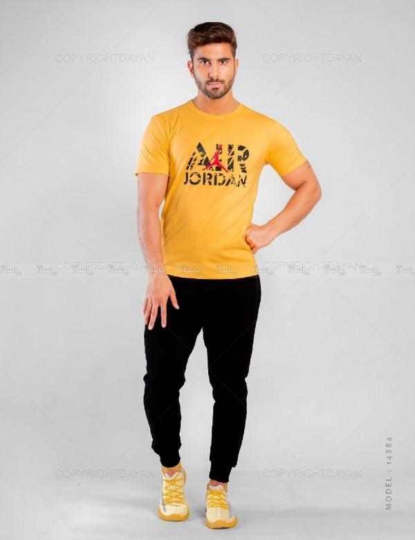 ست تیشرت و شلوار مردانه Jordan مدل 14884-تصویر اصلی