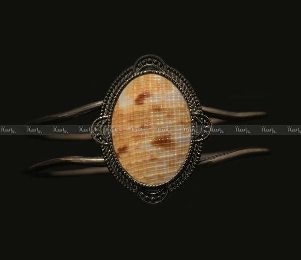 دستبند نگین صدف دریایی اصل ( ارسال رایگان )-تصویر اصلی