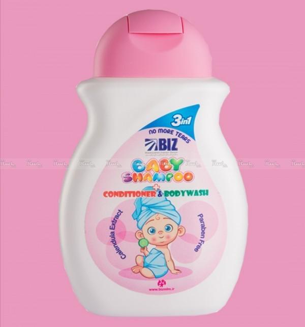 شامپو سر و بدن بچه حاوی مواد نرم کننده-تصویر اصلی
