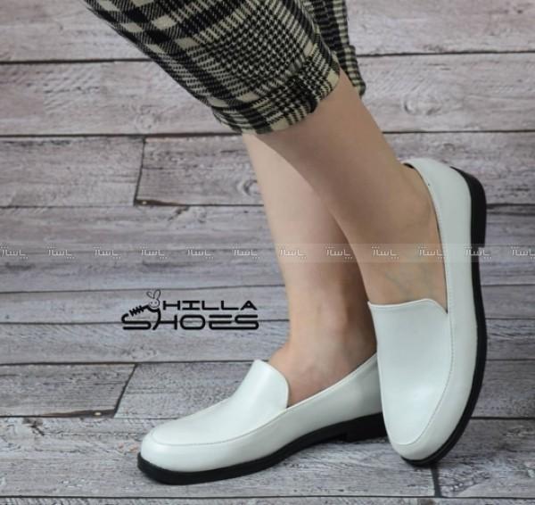 کفش کالج چرم ساده-تصویر اصلی