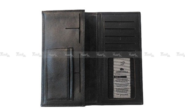 کیف پول و موبایل چرم طبیعی گوساله مردانه طبله دار-تصویر اصلی