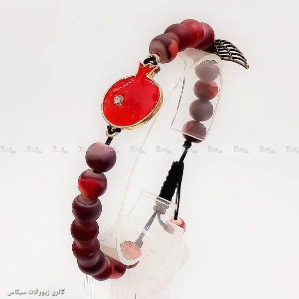 دستبند مهره ای طرح انار-تصویر اصلی