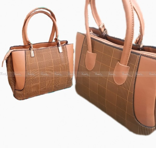 کیف چهارخانه لبه دار-تصویر اصلی